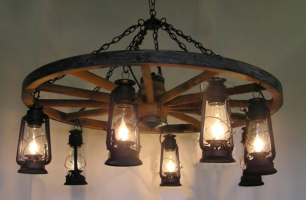 Awesome Premium Rustic Lighting Throughout Unique Handmade Rustic Country Primitive Dcor Specializing In (Image 5 of 25)