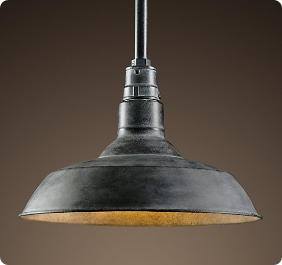 Awesome Series Of Barn Pendant Light Fixtures Regarding Make Your Own Farmhouse Light For Less Things To Create (Image 5 of 25)