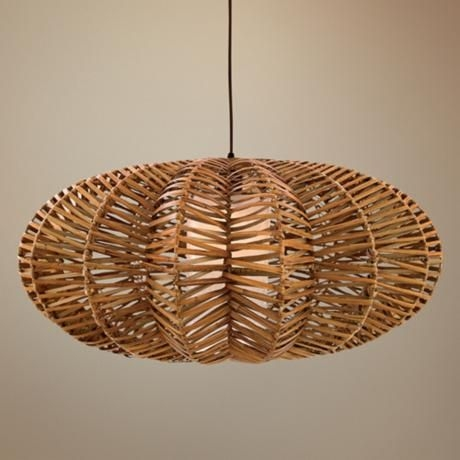 Lovely Awesome Series Of Rattan Pendant Light Fixtures Intended For Best 20 Round  Pendant Light Ideas On