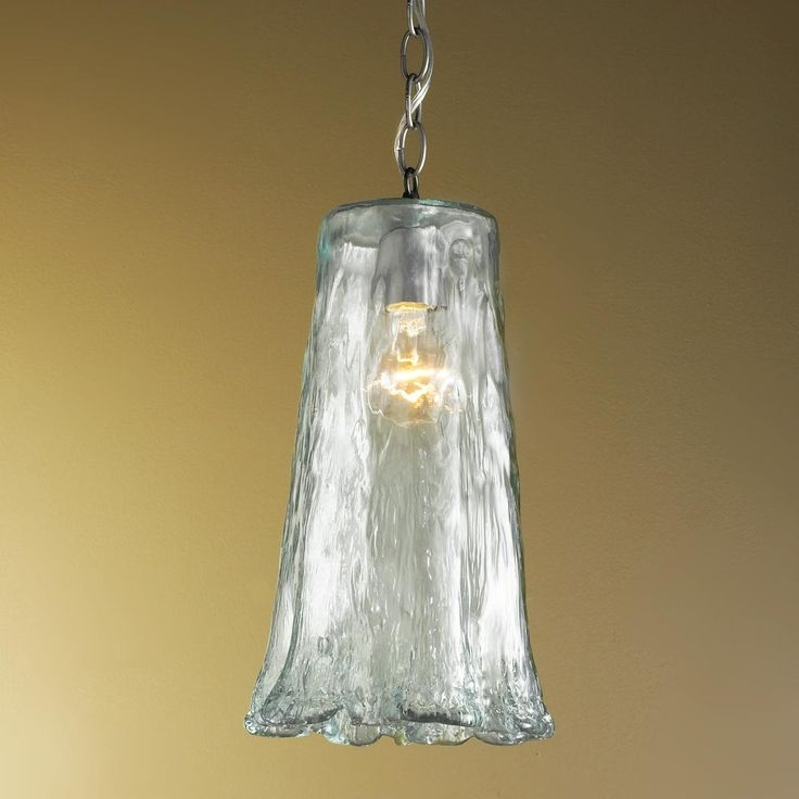 Awesome Series Of Recycled Glass Pendant Lights Within 34 Best Lighting Images On Pinterest (Image 2 of 25)