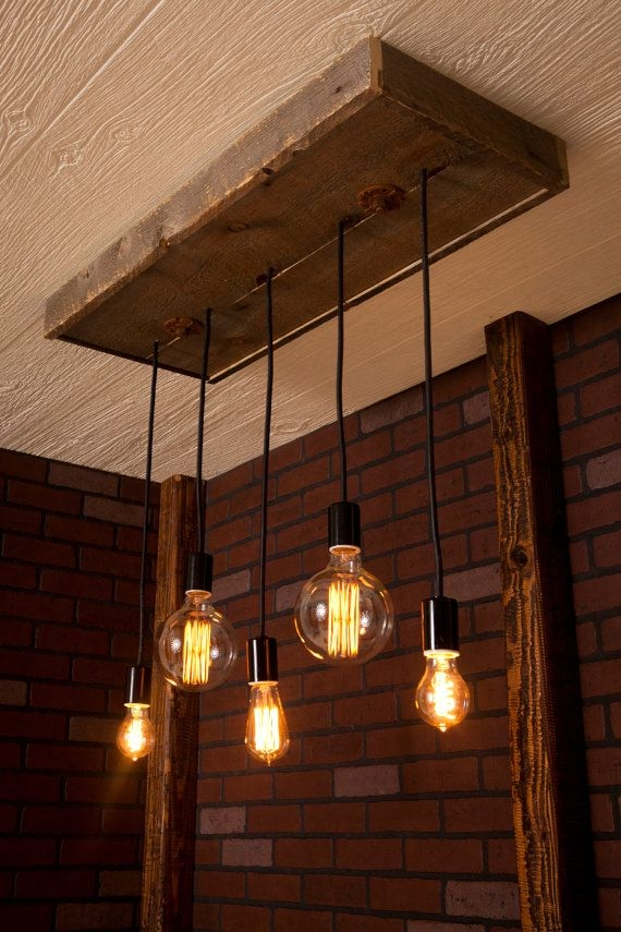 Awesome Top Bare Bulb Filament Single Pendants Within Top 25 Best Edison Bulb Chandelier Ideas On Pinterest Edison (Image 3 of 25)