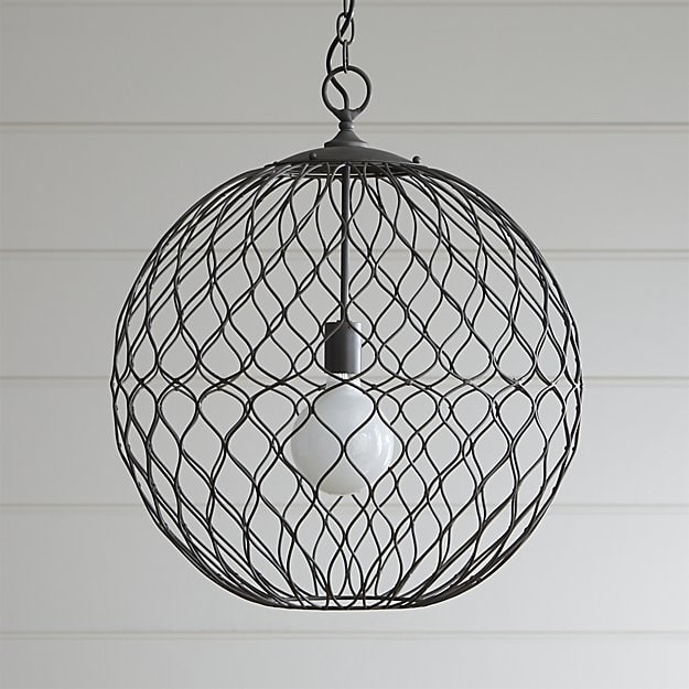 Awesome Top Crate And Barrel Pendant Lights Pertaining To Hoyne Pendant Crate And Barrel (Image 5 of 25)
