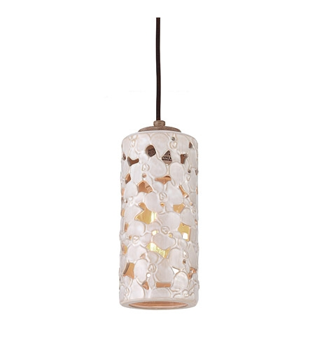 Awesome Trendy Beachy Pendant Lights Pertaining To Feiss Azalia Led Mini Pendant In White Taupe Ceramic Beach Wood (View 20 of 25)