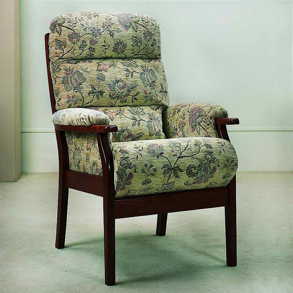 Awesome Unique Cintique Fabric Chairs With Regard To Cintique Cumbria Armchair Vale Furnishers (View 7 of 15)