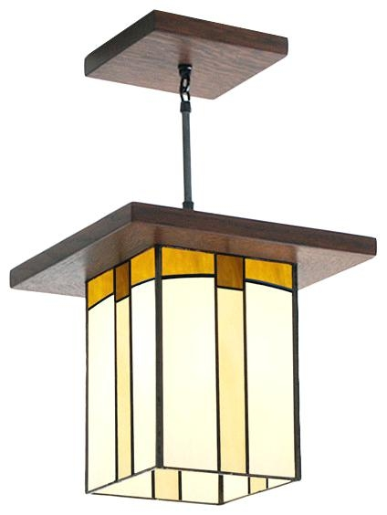 Awesome Unique Mission Style Pendant Lighting Inside Lantern Style Pendant Mrstest (Image 4 of 25)