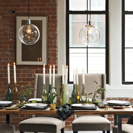 Awesome Unique West Elm Cluster Pendants Intended For House Stuff Works The Dining Globe (View 9 of 25)