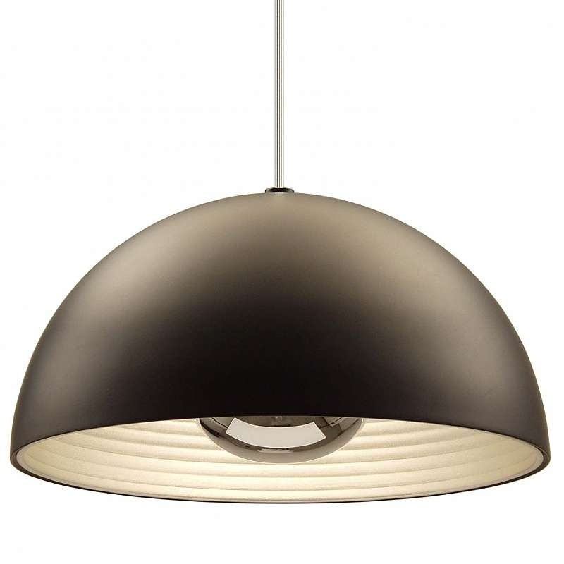 Awesome Variety Of Large Dome Pendant Lights Regarding Modern Dome Pendant Lights Ylighting (View 6 of 25)