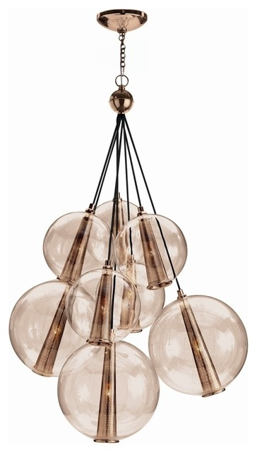 Awesome Wellknown Caviar Pendant Lights Pertaining To Arteriors Dk89919 Caviar Adjustable Large Cluster Contemporary (Image 4 of 25)