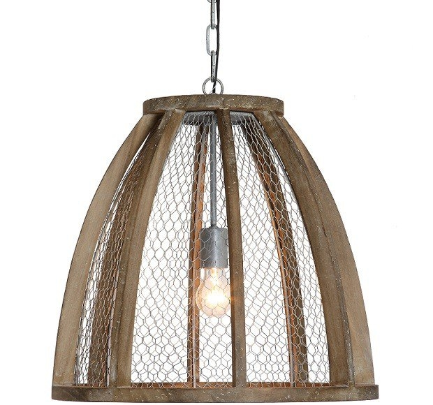 Featured Image of Chicken Wire Pendant Lights