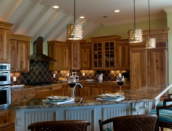 Awesome Well Known Kitchen Island Light Pendants Inside 55 Beautiful Hanging Pendant Lights For Your Kitchen Island (Image 4 of 25)