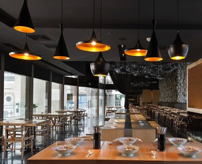 Awesome Wellknown Restaurant Pendant Lights Intended For 1pc Modern Stylish Tom Musical Instrument Lights Nobility Small (Image 2 of 25)