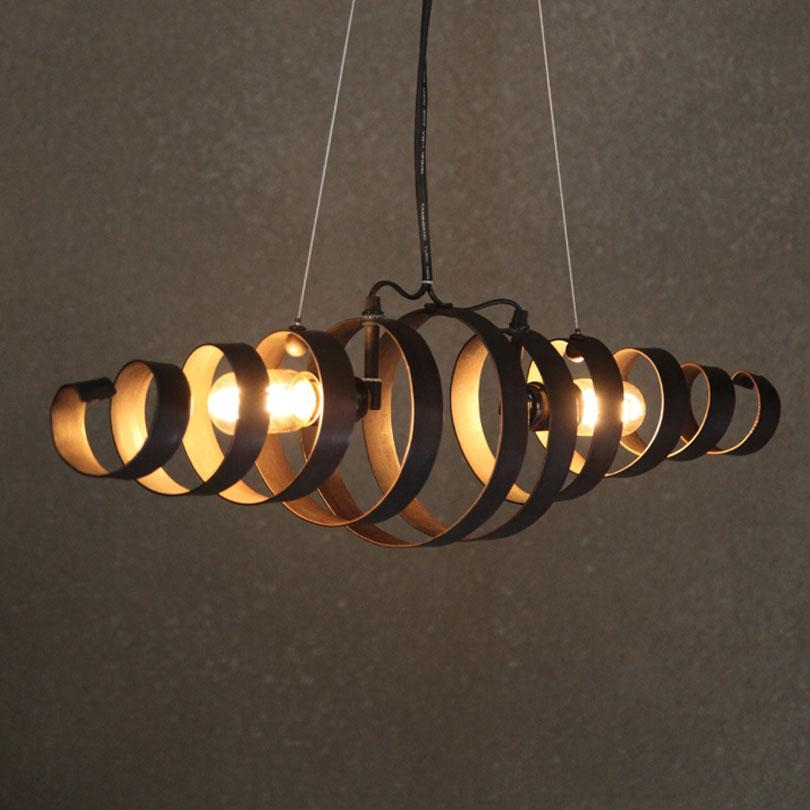 Awesome Well Known Retro Pendant Lights Intended For Loft Retro Wrought Iron Vintage Pendant Lights Industrial Pendant (Image 3 of 25)