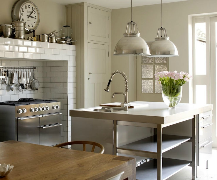 Awesome Wellknown Stainless Steel Pendant Lights For Kitchen Regarding Stunning Stainless Steel Kitchen Island Lighting Kitchen Island (Image 6 of 25)