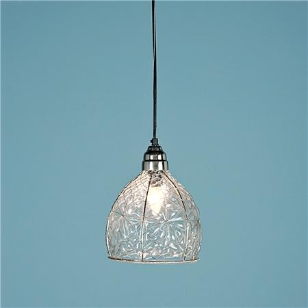 Awesome Well Known Wire And Glass Pendant Lights In Wire Wrapped Recycled Glass Pendant Occhiali Lampade A (Image 2 of 25)