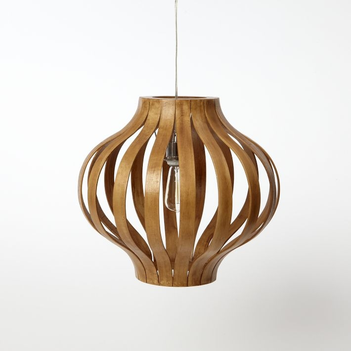 Awesome Wellliked Bent Wood Pendant Lights Within Bentwood Pendant Light Tequestadrum (Image 5 of 25)