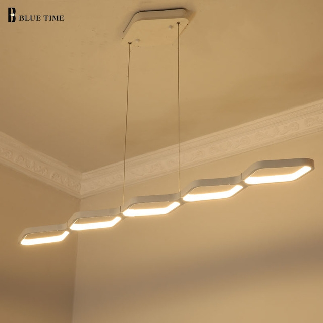 Awesome Wellliked Remote Control Pendant Lights With Aliexpress Buy Modern Pendant Lights Kitchen Living Dinging (View 18 of 25)