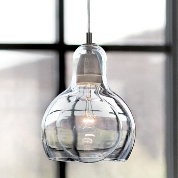 Awesome Widely Used Blown Glass Mini Pendant Lights Pertaining To Mouth Blown Glass Modern Mini Pendant Light Around 59 Comes In (Image 3 of 25)