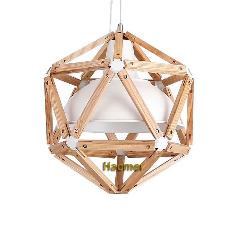Awesome Widely Used Dodecahedron Pendant Lights With Regard To Compare Prices On Bamboo Hanging Light Online Shoppingbuy Low (Image 7 of 25)