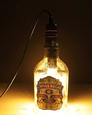Awesome Widely Used Liquor Bottle Pendant Lights With Regard To Parrotuncle E14 220v Chivas Regal Liquor Bottle Pendant Light (Photo 7 of 25)