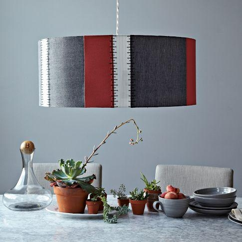 Awesome Widely Used West Elm Drum Pendants With Regard To Drum Pendant West Elm (Image 3 of 25)