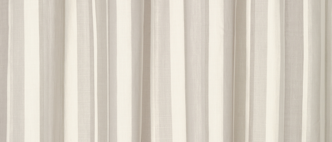 Awning Stripe Dove Grey Eyelet Ready Made Curtains At Laura Ashley Inside Stripe Curtains (Image 3 of 25)