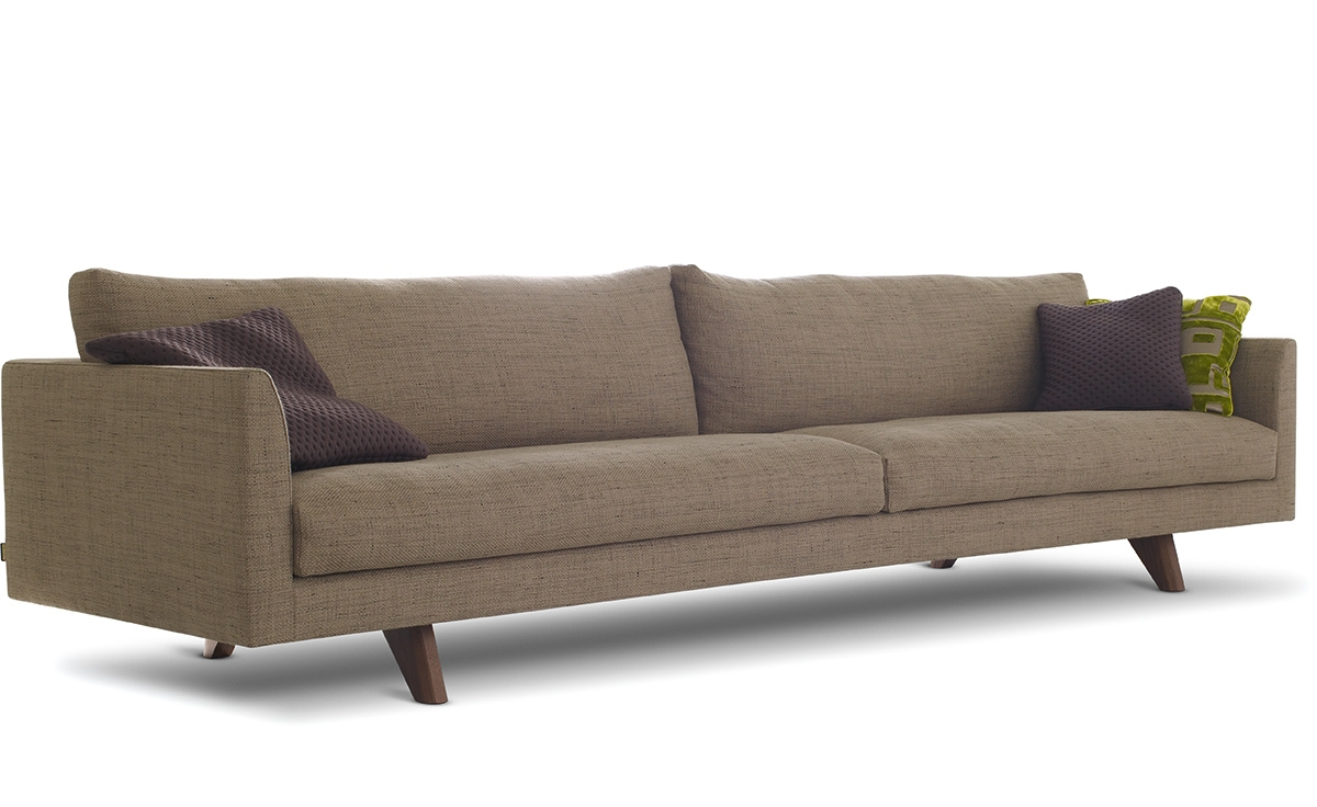 Axel 4 Seat Sofa Hivemodern For 4 Seater Sofas (View 3 of 15)