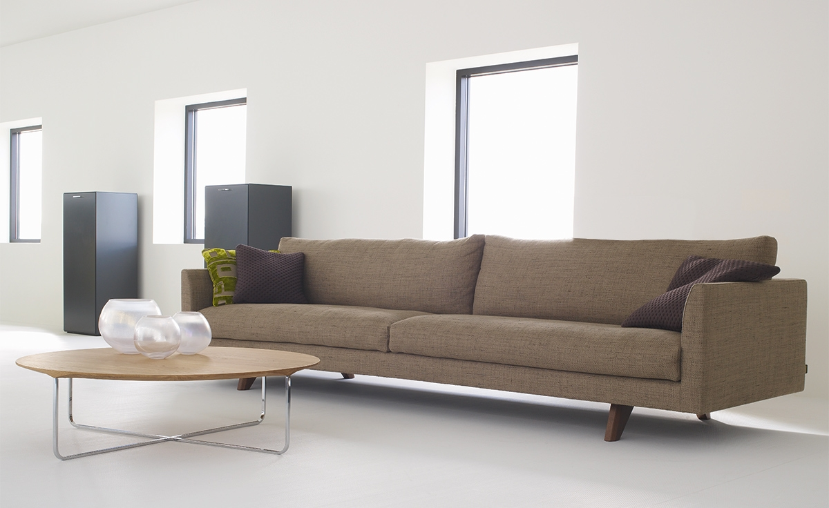 Axel 4 Seat Sofa Hivemodern With Regard To 4 Seater Sofas (Image 3 of 15)