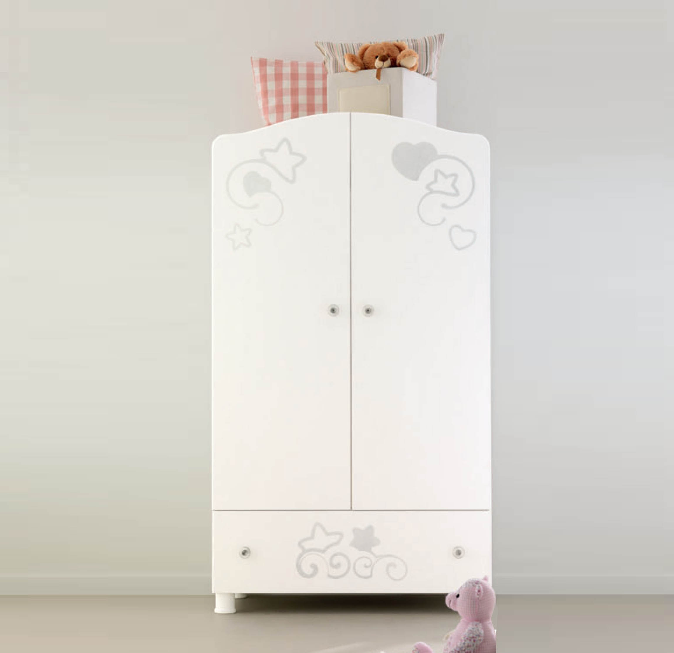 Ba Wardrobes And Chest Of Drawers Made In Italy My Italian Inside Cheap Baby Wardrobes (Image 6 of 25)