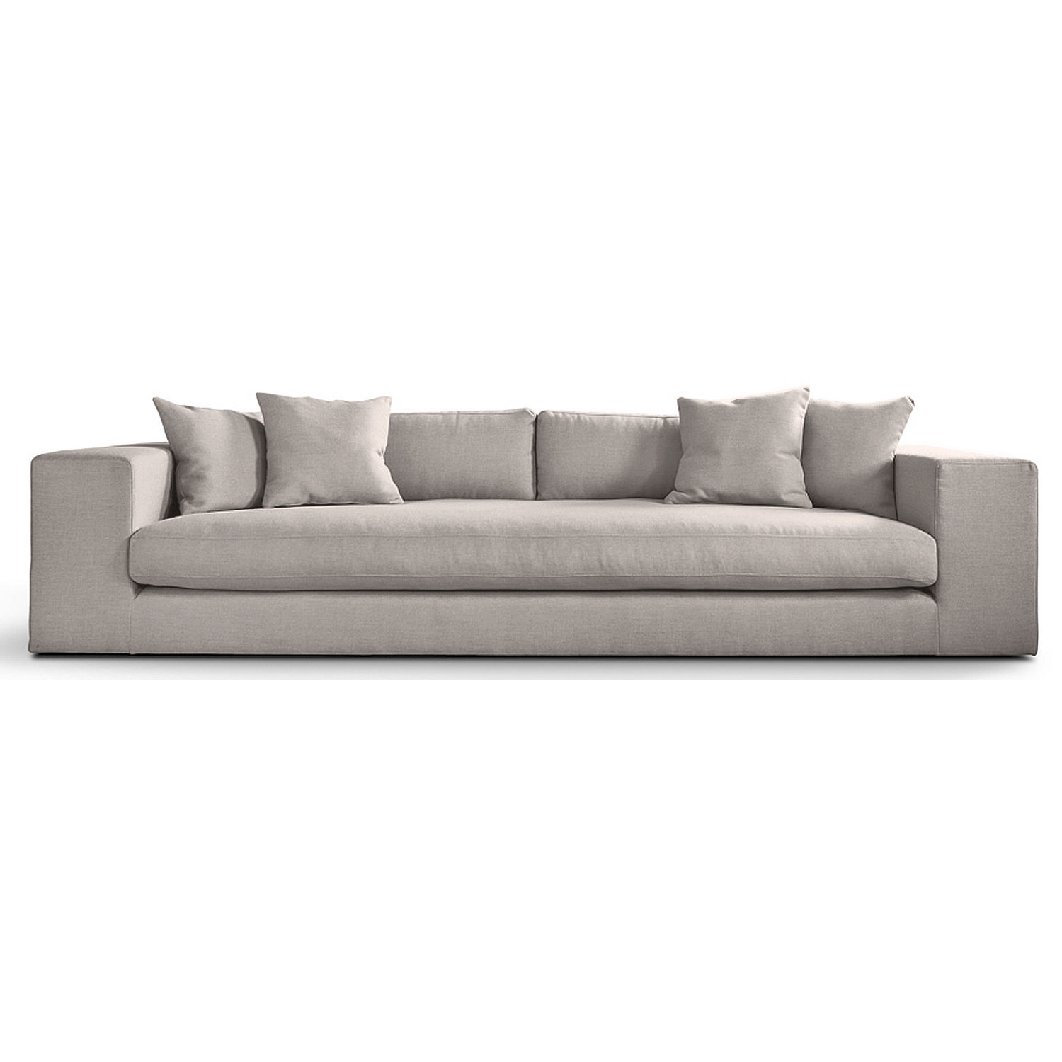 Barlow Fabric 4 Seater Sofa Next Day Delivery Barlow Fabric 4 Throughout 4 Seat Sofas (Image 3 of 15)