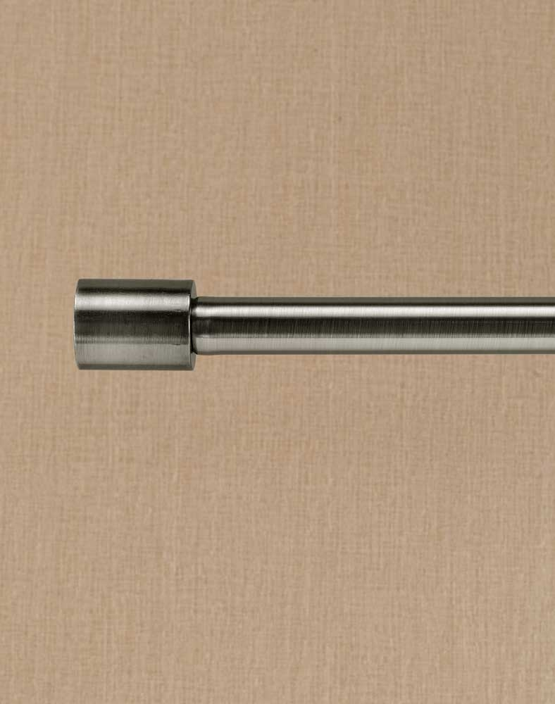 Barrel Adjustable Decorative Curtain Rod 58 Diameter Regarding Adjustable Rods For Curtains (View 9 of 25)