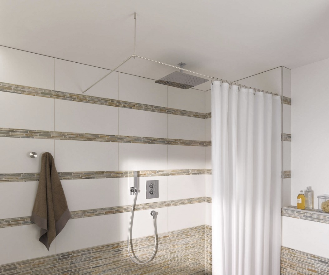 Bath Curtain Rail L Shaped Curtain Menzilperde Within L Shaped Shower Curtain Rods (View 14 of 25)