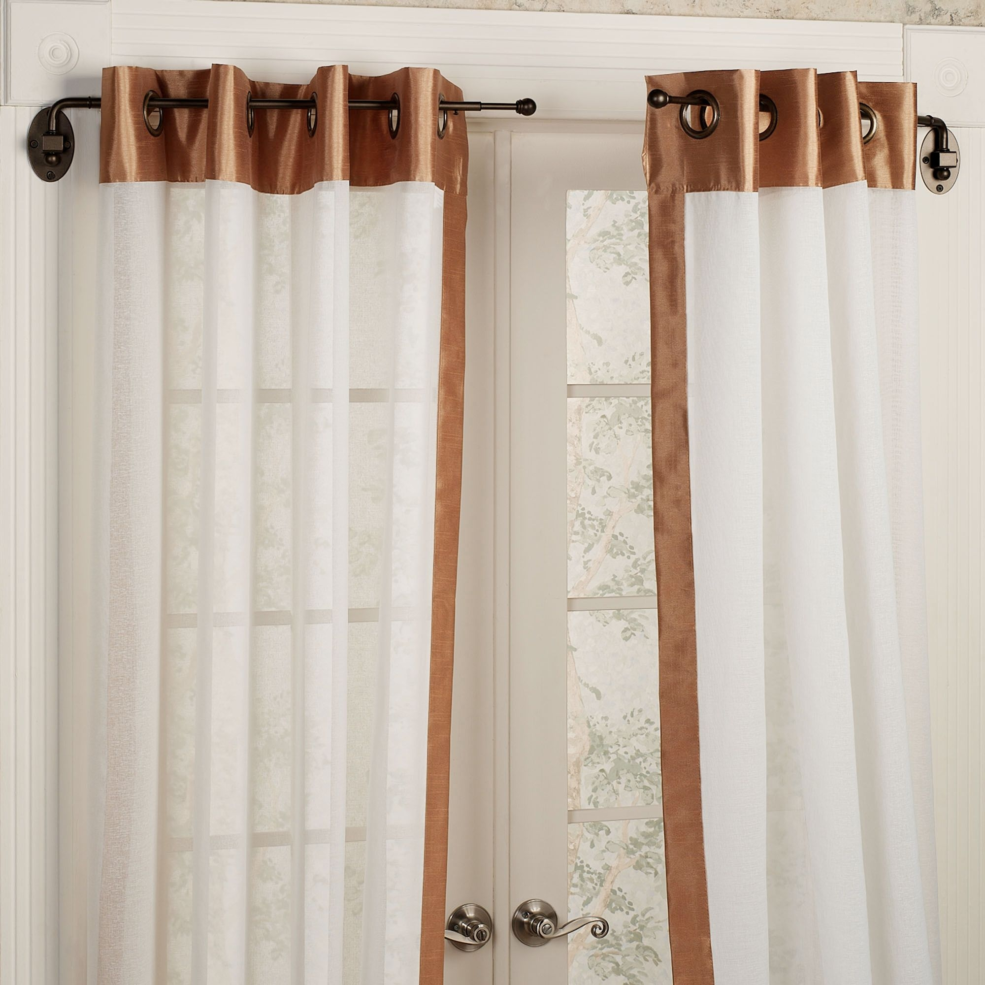 Bathroom Cool Walmart Shower Curtains For Cool Shower Curtain Inside Nautical Curtain Rods (Image 1 of 25)