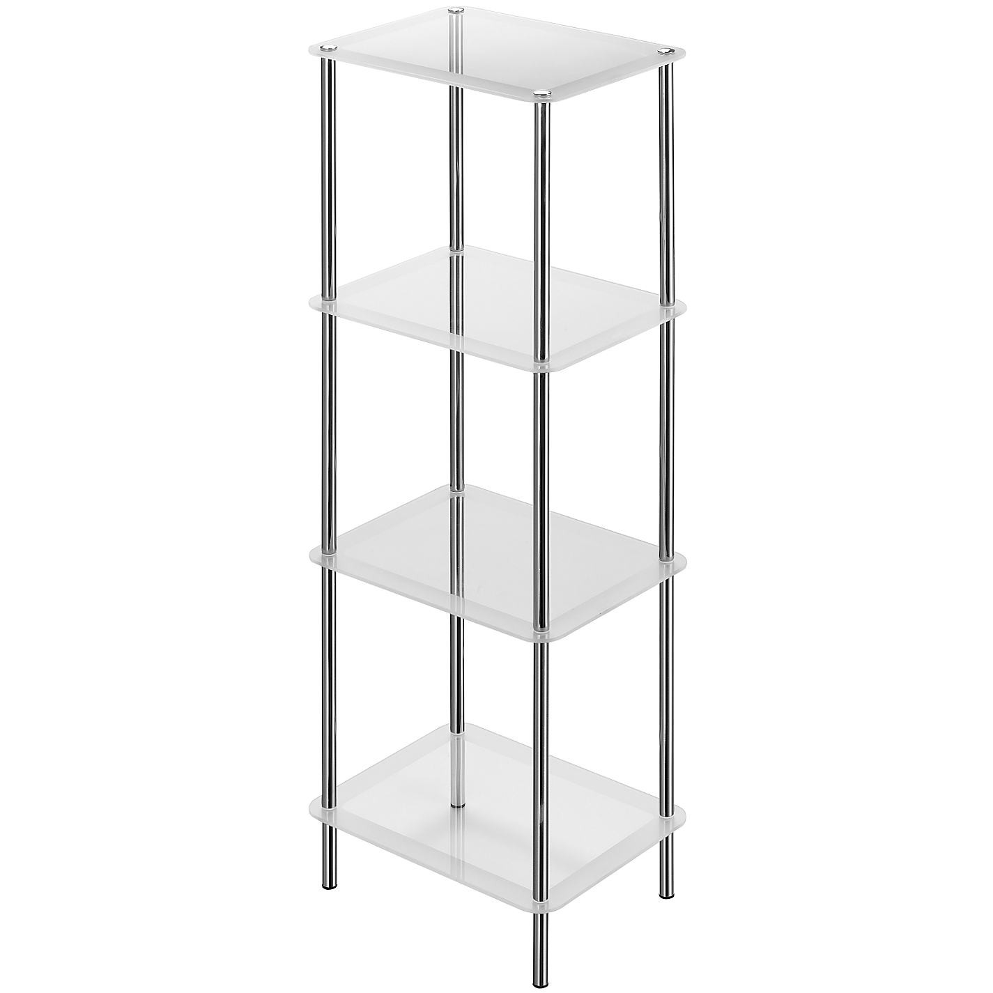 Bathroom Free Standing Shelving Units Bathroom Design In Free Standing Glass Shelves (Image 3 of 15)