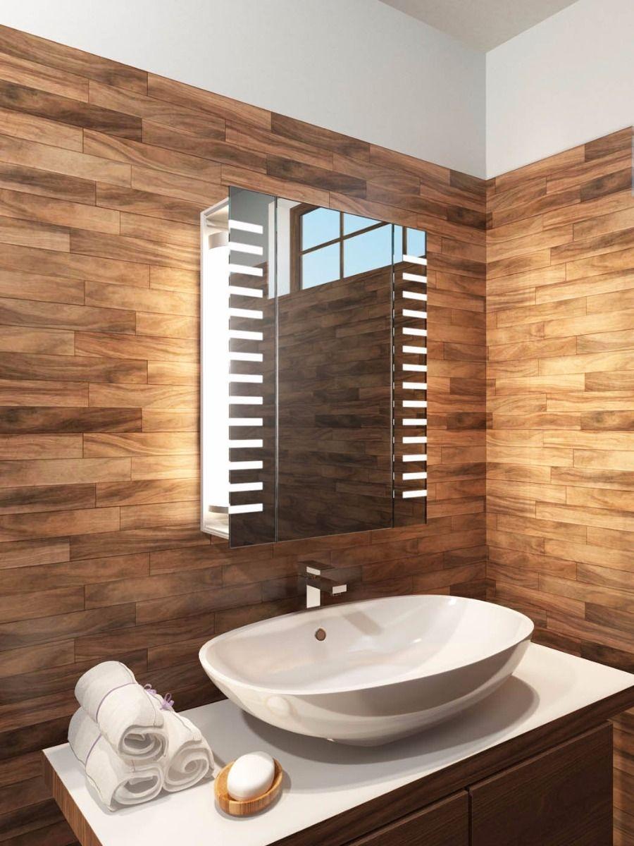 Bathroom Mirror Cabinet Dact Throughout Bathroom Mirror Cupboards (Image 3 of 25)