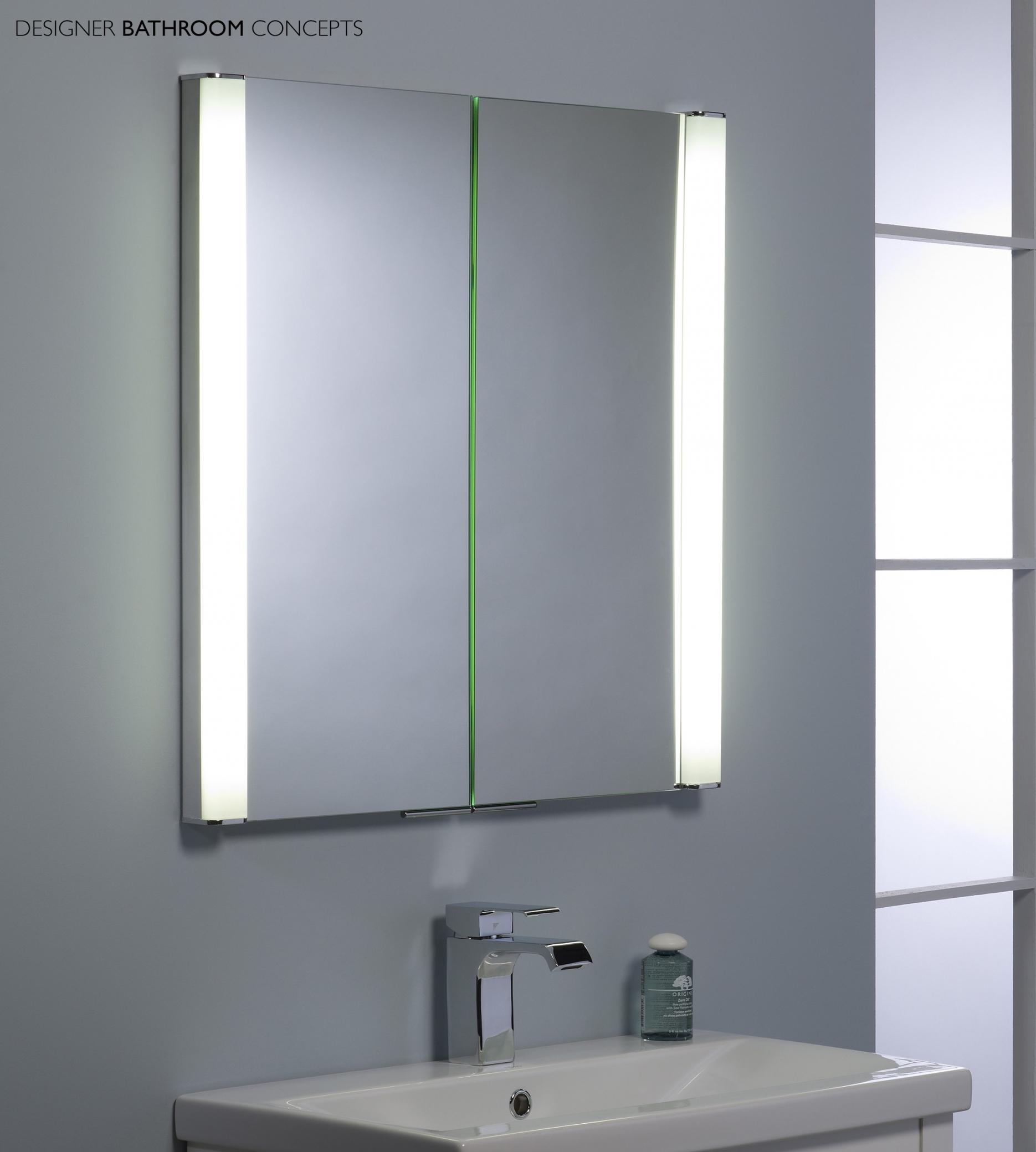 Bathroom Mirror Cabinets Creative Bathroom Decoration In Bathroom Mirror Cupboards (Image 4 of 25)