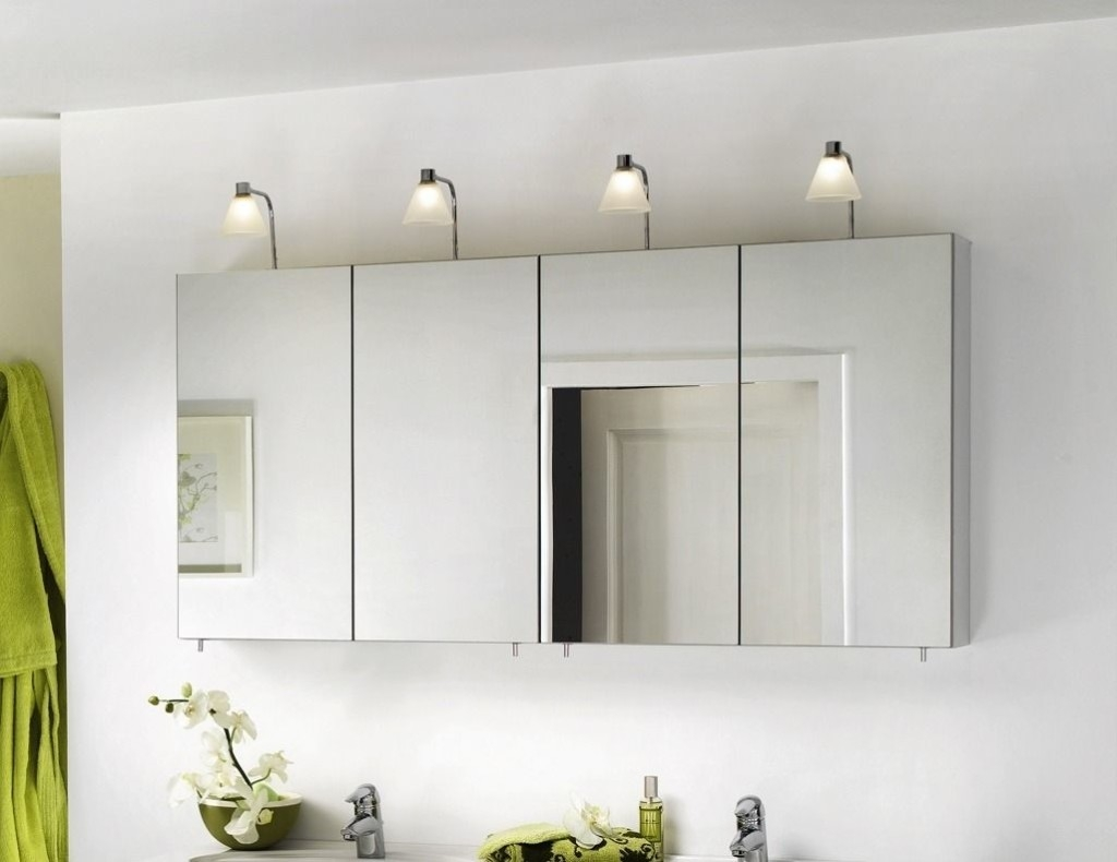 Bathroom Mirror Cabinets With Light Bright Ideas Bathroom Mirror In Bathroom Mirror Cupboards (View 22 of 25)