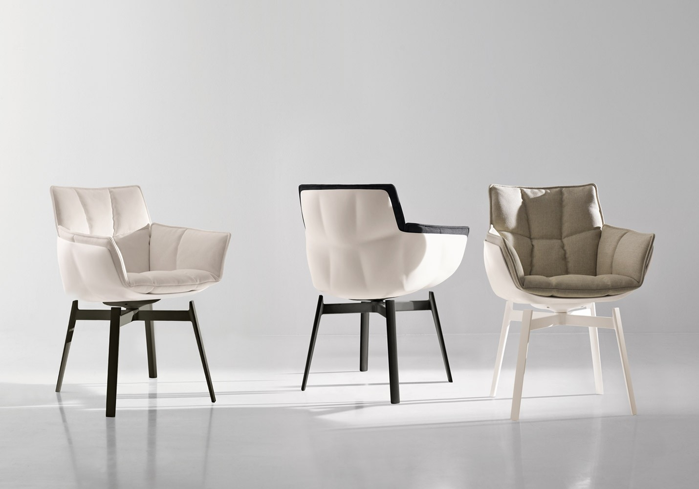Bb Italia Husk Small Arm Chair Arm Chairs Chairs Products For Small Arm Chairs (Image 2 of 15)