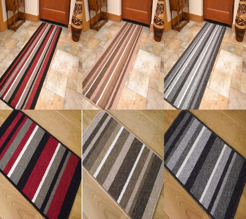 Beauteous Image Of Kitchen Decoration With Various Kitchen Rubber For Striped Mats (Image 3 of 15)