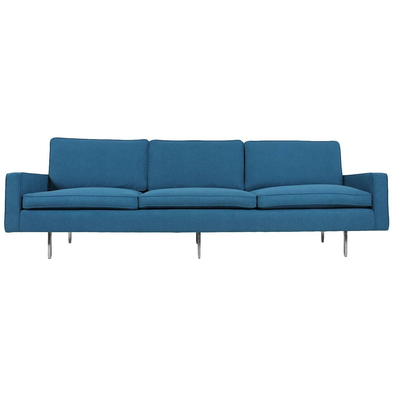 Beautiful Mid Century Florence Knoll Sofa Mod 25 Bc Knoll With Florence Knoll Fabric Sofas (Image 2 of 15)