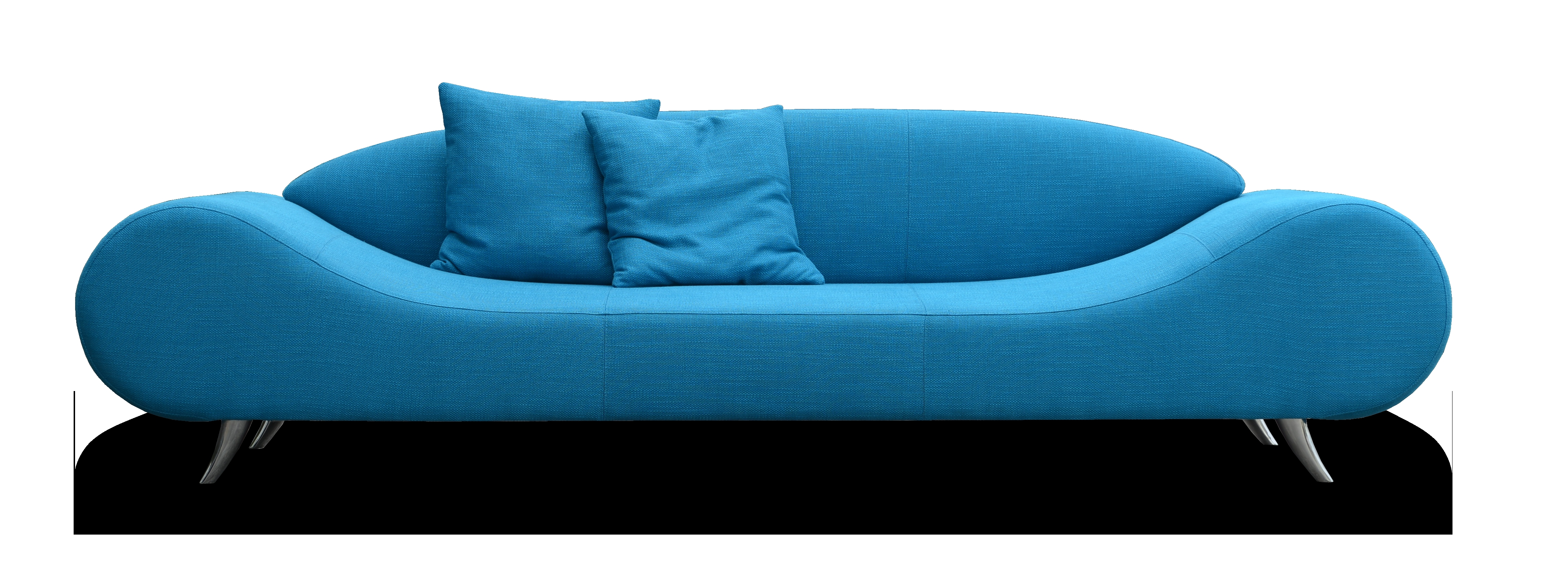 Beautiful Turquoise Sofa Bed Pictures Design Ideas Collections Within Blue Sofa Chairs (Image 2 of 15)