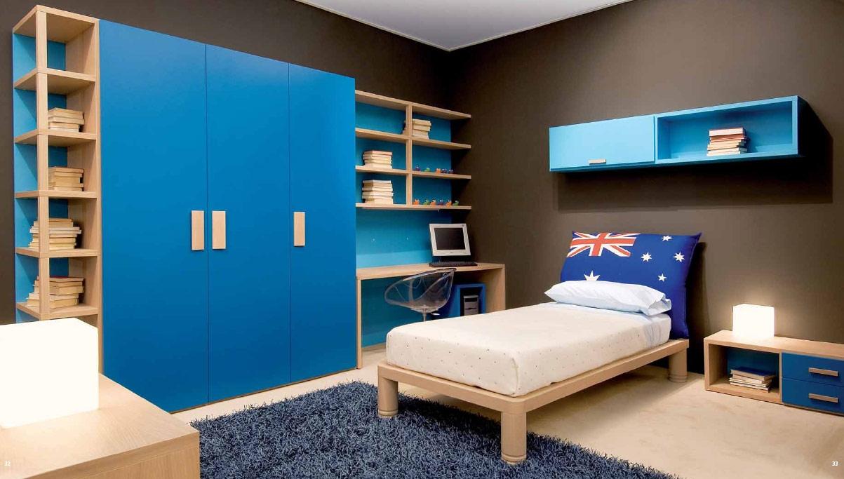 Bed Childrens Bedroom Wardrobe Inside Childrens Bedroom Wardrobes (Image 1 of 25)