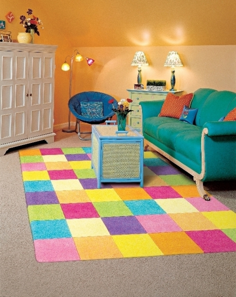 Bedroom Awesome Hearts Pink Childrens Area Rug Pink Background With Extra Large Kids Rugs (View 5 of 15)