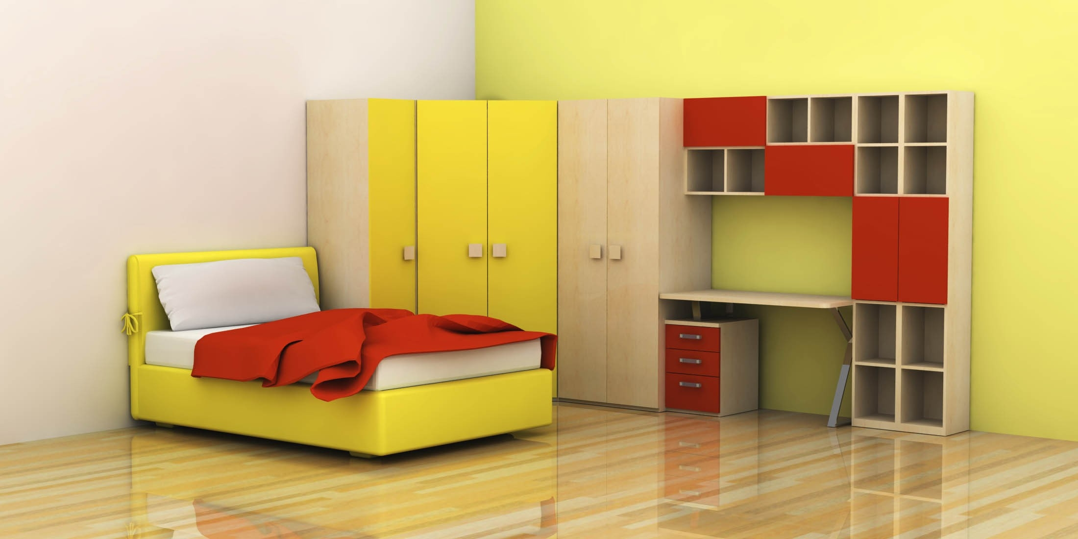Featured Image of Childrens Bedroom Wardrobes