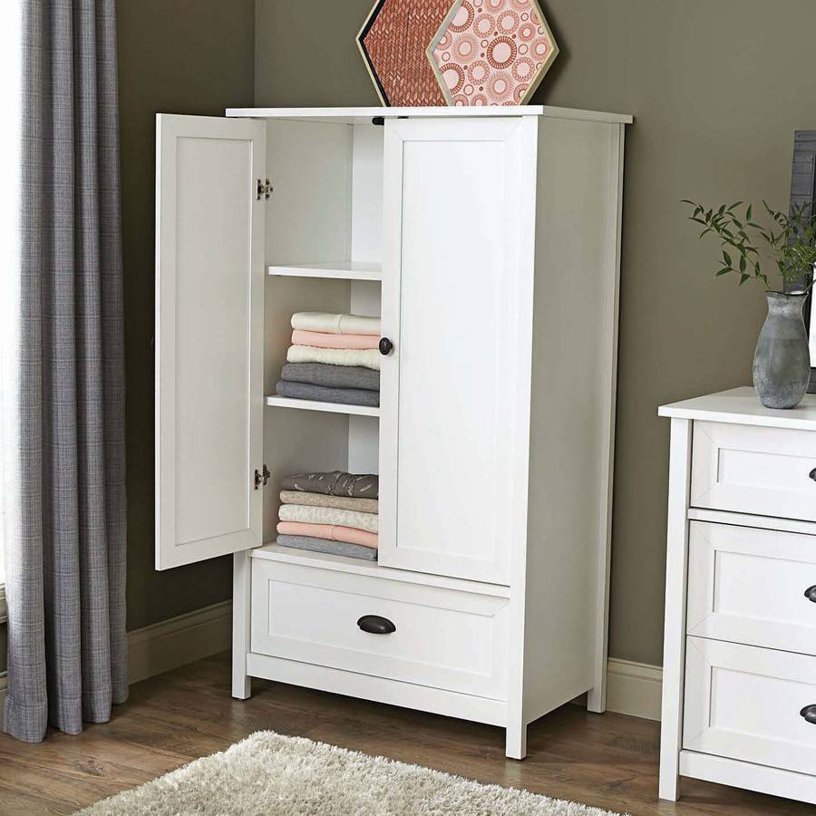 Bedroom Closets And Wardrobes: 25 Best Ideas White Wardrobe Armoire