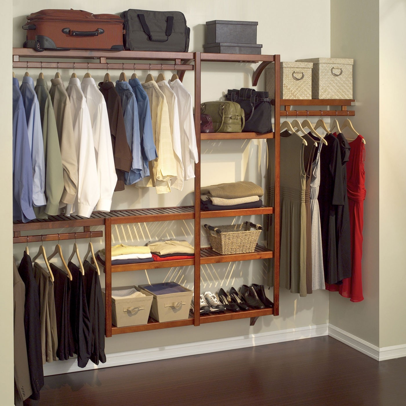 Bedroom Furniture Sets Clothes Hanger Bedroom Clothing Storage In Wardrobe Hangers Storages (Image 5 of 25)