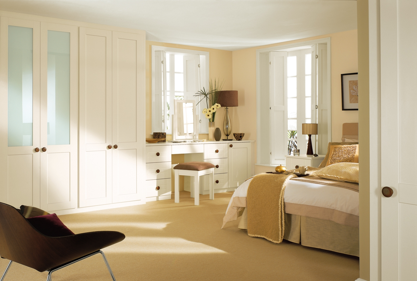 Bedroom Great Bed Room Interior Plan Decoration With Cupboards With Regard To Table Cupboards (Image 5 of 25)