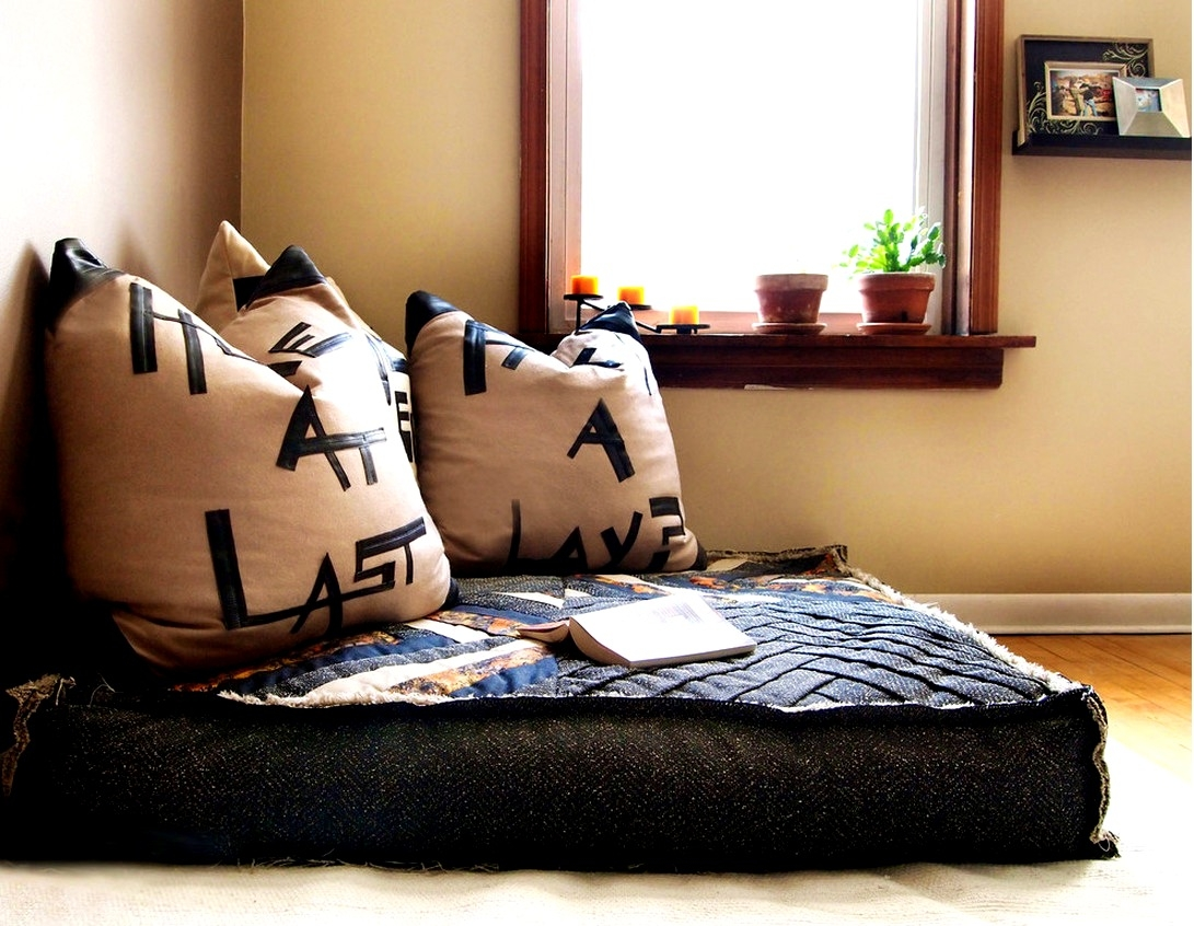 Bedroom Knockout Ideas About Floor Couch Seating For In DIY Moroccan Floor Seating (Image 4 of 15)