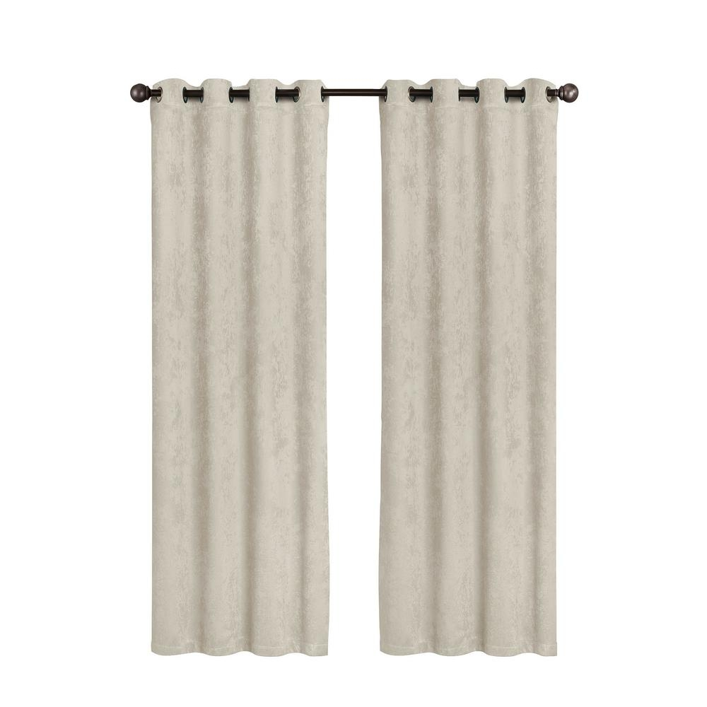 Featured Image of Faux Suede Curtain Panels
