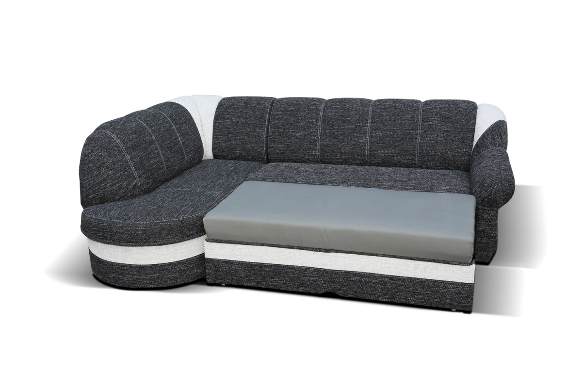 Benano Corner Sofa Bed With Corner Couch Bed (Image 2 of 15)