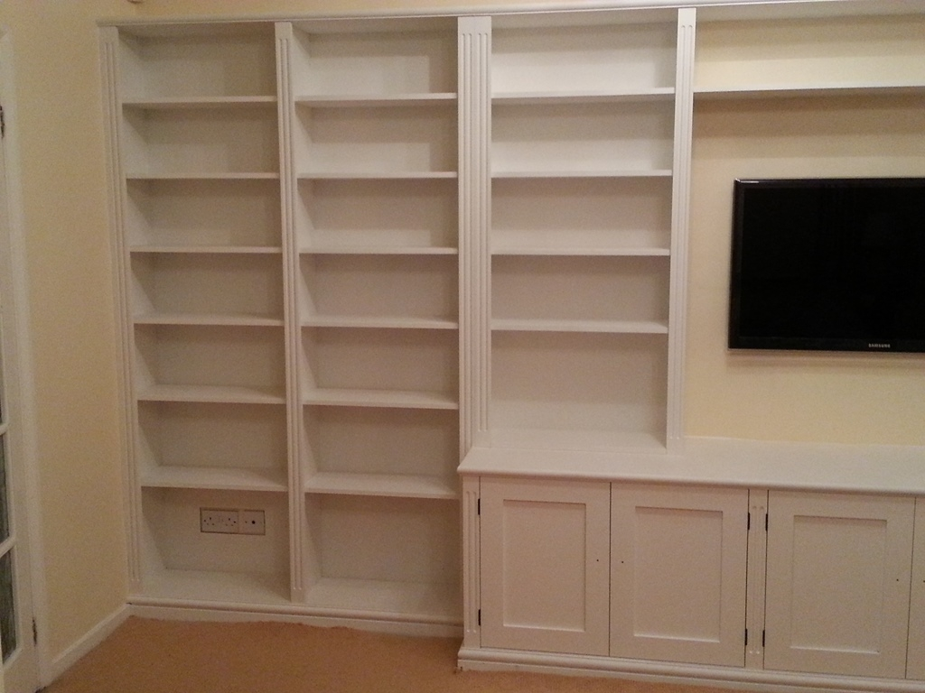 Bespoke Cupboards Bookcases Cabinets Nk West Carpentry For Bespoke Cupboards (Image 2 of 15)